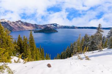 Beautiful Panorama of Crater Lake