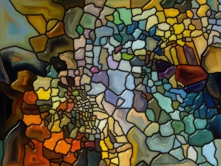 Energy of Stained Glass