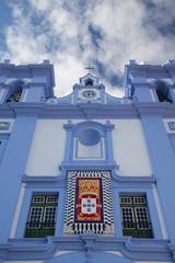Detail of Igreja da Misericordia,Azores