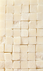 Sugar cube background