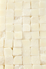 Sugar cube background