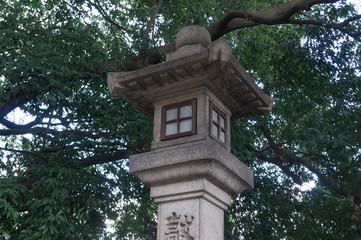 Stone lantern in doumyou-ji temple.
