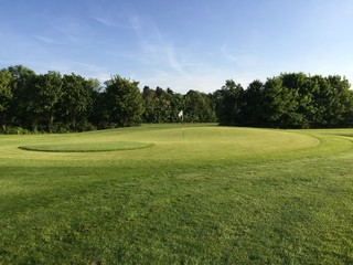 Golf field lanscape