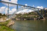Fototapeta Maria Pia Bridge in Porto