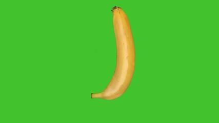 Building a banana on green screen