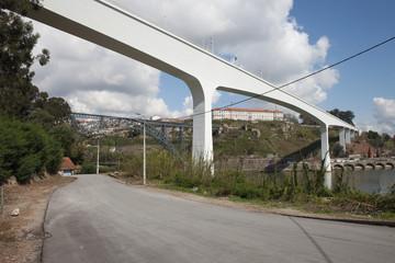 Bridges Between Porto and Gaia in Portugal