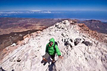 Hiking - Male hiker