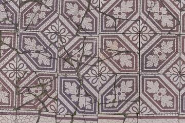 Antike Mosaikfliesen