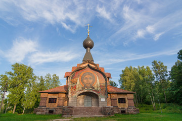 Temple of the spirit in the estate Talashkino