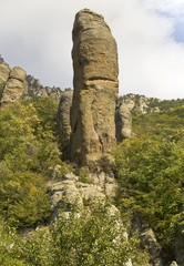 Stone giant in the Valley of ghosts.