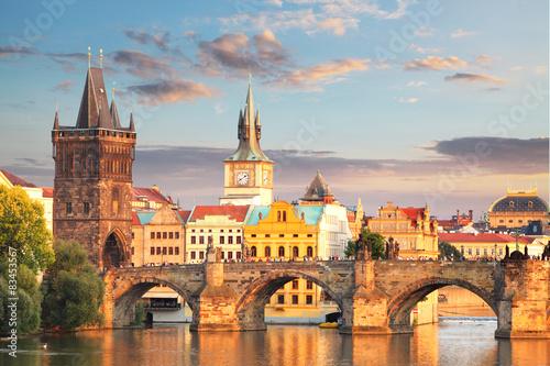 Obraz na Plexi Prague - Charles bridge, Czech Republic