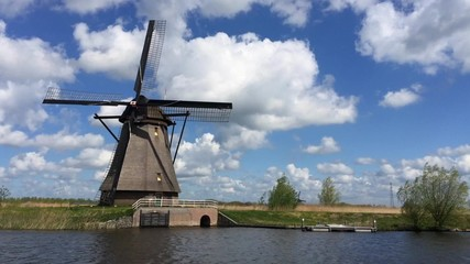 Kinderdijk Windmills Time Lapse