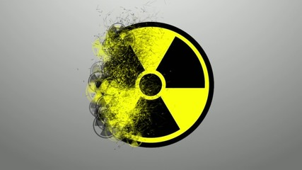 Sign of radiation. icon infection