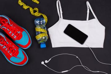 Sport women's clothes.