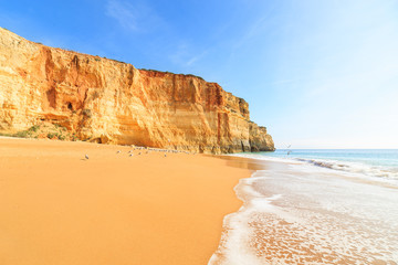 A view of a Praia de Benagil in Algarve region, Portugal, Europe