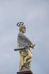 Petrusfigur auf dem Petrusbrunnen, Trier