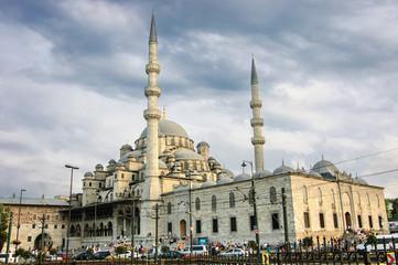 New mosque-Yeni Camii, Istanbul, Turkey.