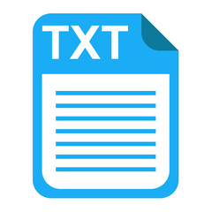 Iconos extension TXT