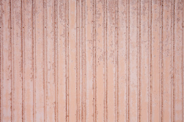 Light Pink Corrugated metal texture surface steel background