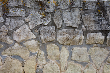 A Background of a stone wall texture