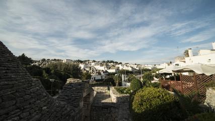 Vista di Alberobello