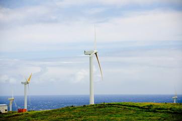 Wind farm near Upolu Point, Big Island