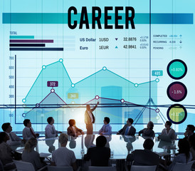 Career Job Occupation Business Goals Concept