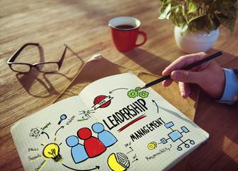 Businessman Leadership Management Idealist Working Concept