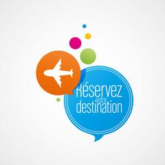 réservez votre destination
