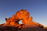 Photographer at Sunset Arch, Grand Staircase Escalante