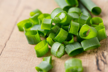 spring onion chopped