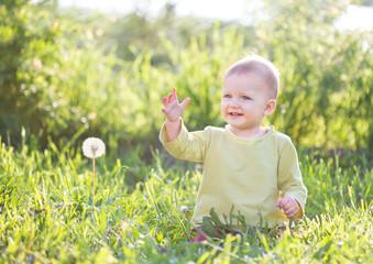 Baby eleven months months