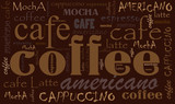 Fototapety Coffee background