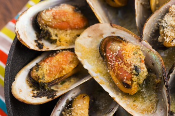 Delicious Fresh Clams with herbs