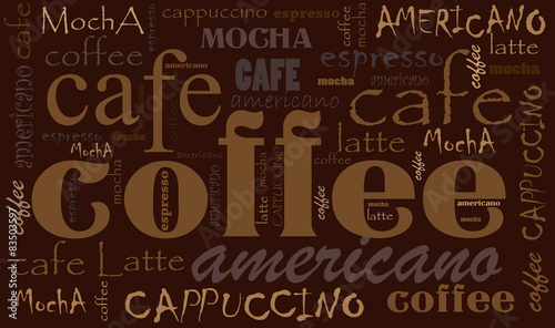 Coffee background - 83503597