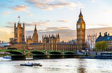 The Palace of Westminster in London in the evening - England - 83503776