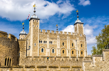 View of the Tower of London - England