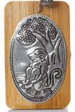 Silver plate engraving  thai craftsmanship. poster