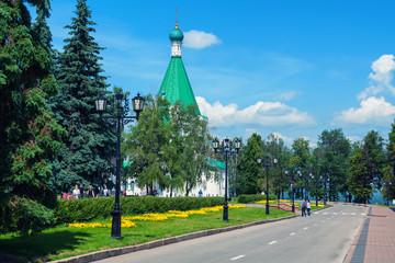 Mihailo - Archangelsky Cathedral in Nizhny Novgorod, Russia