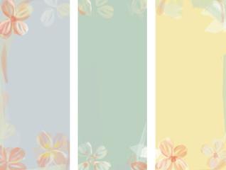 Flower Watercolor Background. Floral Illustration Pattern