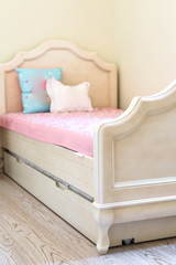 Girl kids bedroom interior