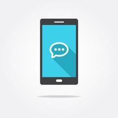 Message Phone Icon