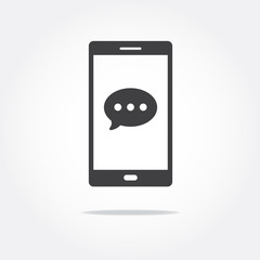 Message Phone Icon