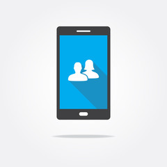 Users Phone Icon