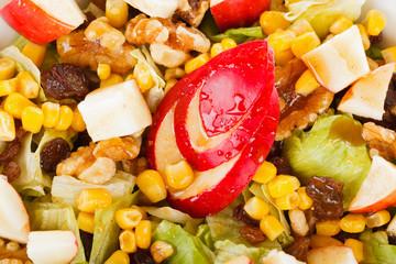 Apple honey salad