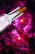 Space Shuttle Rocket Launch