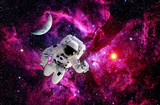 Astronaut Spaceman Suit Moon - 83514761