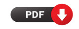 Fototapety Black and red PDF vector web button