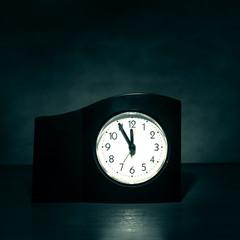 Clock in the Dark Room