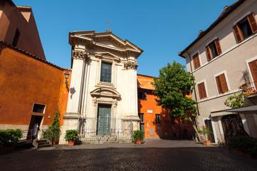 Roma Piazza di Sant Egidio